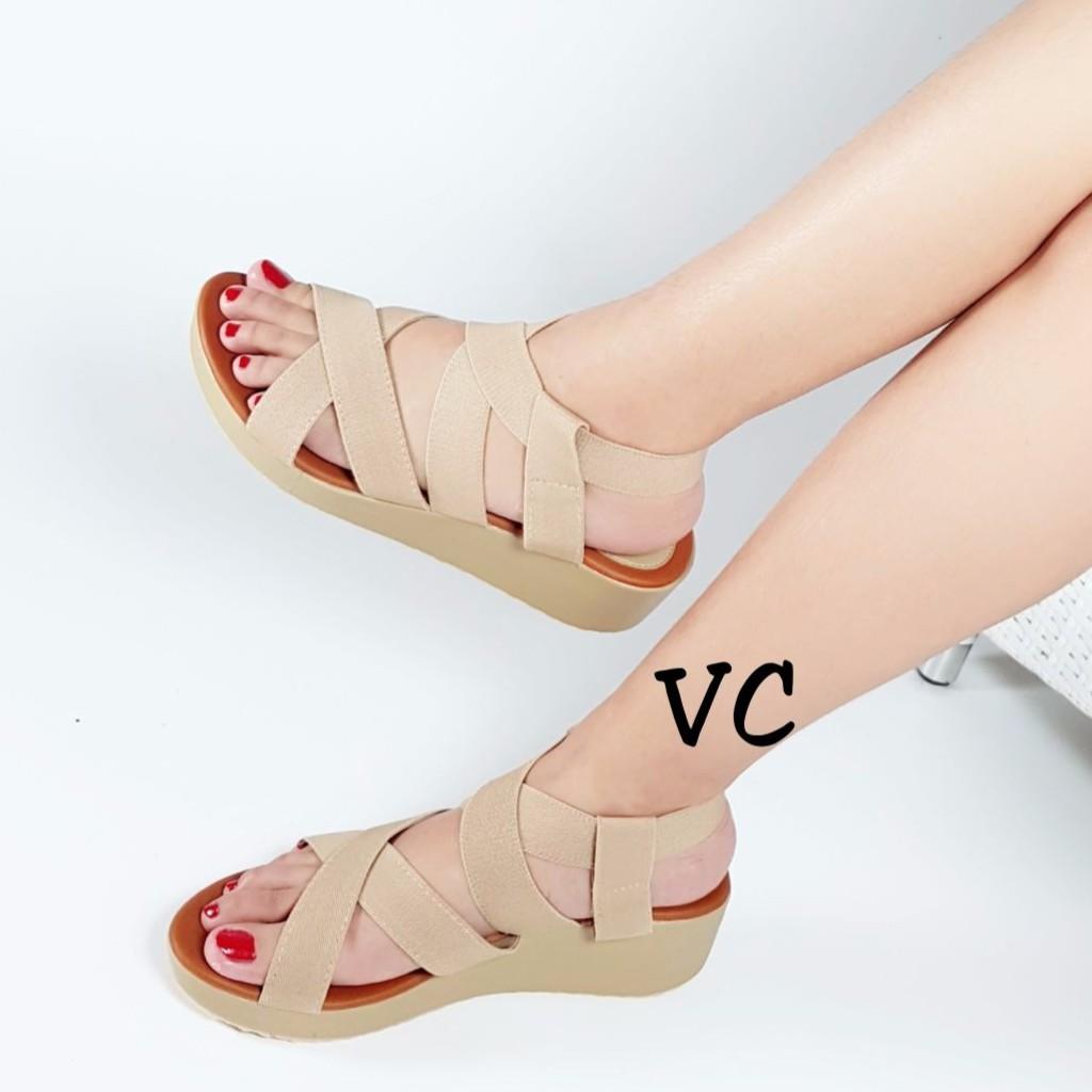 Belanja Online Wedges Sepatu Wanita Shopee Indonesia
