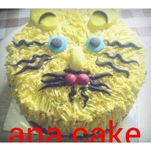 Bikin Ngiler Kue Ultah Anak Karakter Kucing Delivery Cikarang Catarina Citra Shop