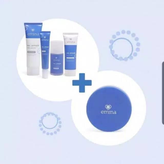 Emina Ms Pimple Acne Solution Paket ( 4 in 1 )