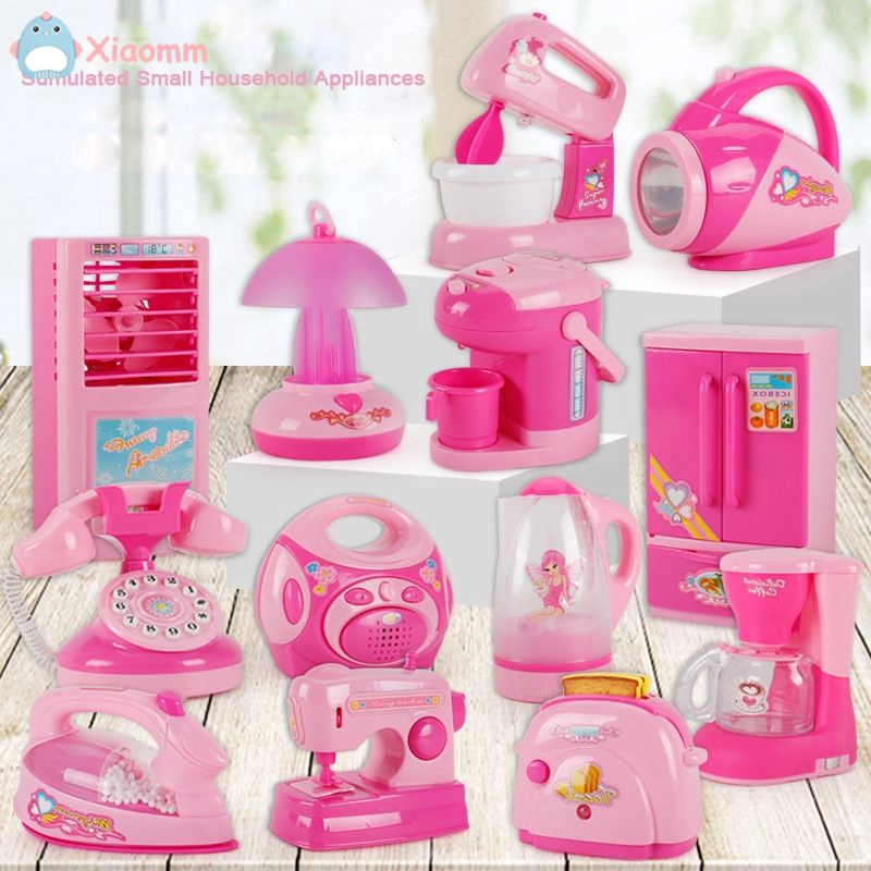 Cod Mini Small Household Electrical Appliances Children Play House Kitchen Small Toy Xiaomm Shopee Indonesia