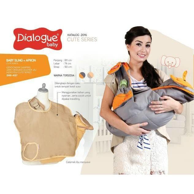 Gendongan Dialogue Baby - DGG 4219 - Gendongan Bayi - Baby Carrier   Shopee Indonesia