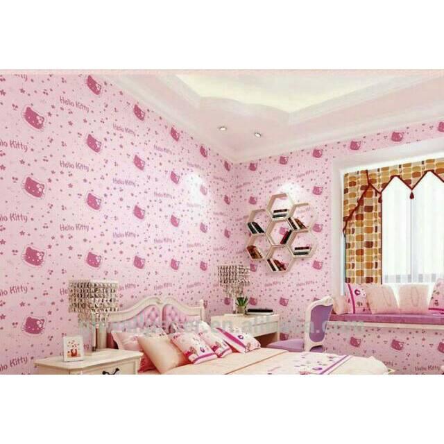 Wallpaper Hello Kitty 10m Shopee Indonesia