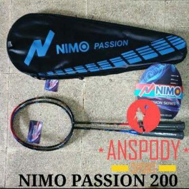 RAKET BADMINTON NIMO PASSION 200