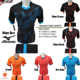 [ TERBARU MZ 17 ] Baju Olahraga Jersey Bola Setelan Futsal / Volly Badminton Mizuno 17 | Shopee Indonesia