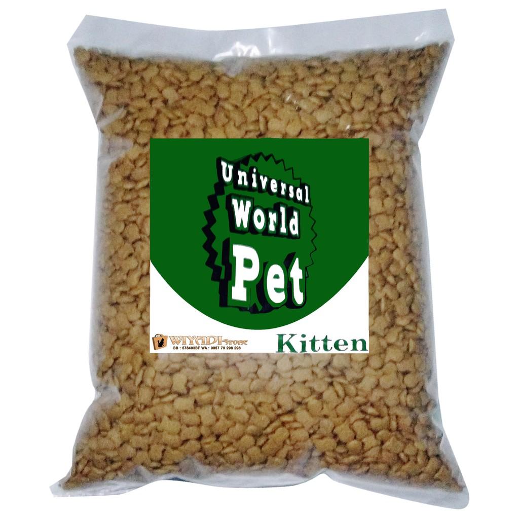 Universal Kitten Repack 500 Gr Makanan Kucing Kecil Shopee Indonesia