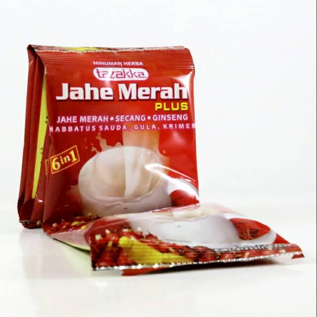 Jahe Merah Mix plus gingseng krimer dan habbatussaudah | Shopee Indonesia