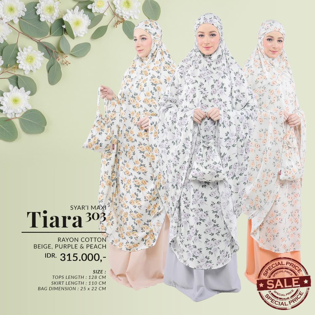 Tatuis Mukena Tiara 303 Beige Shopee Indonesia 330 Peach