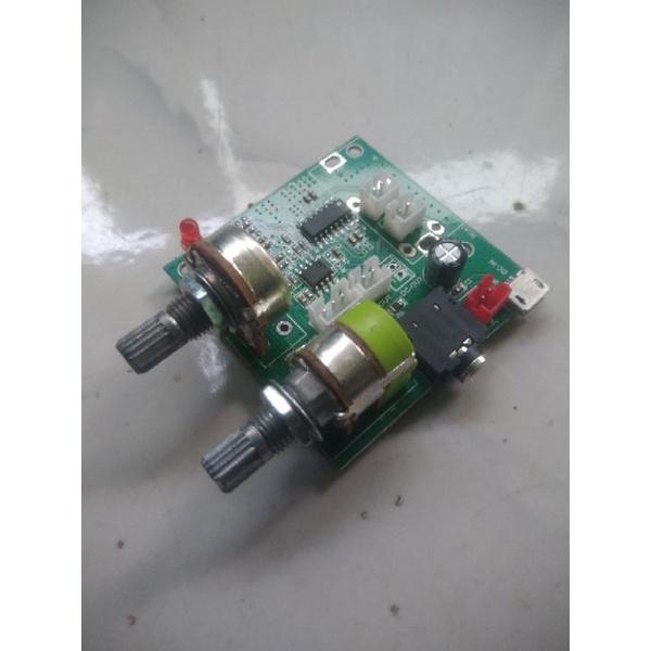 Mini kit amplifier 2.1 (bekas tapi baru)