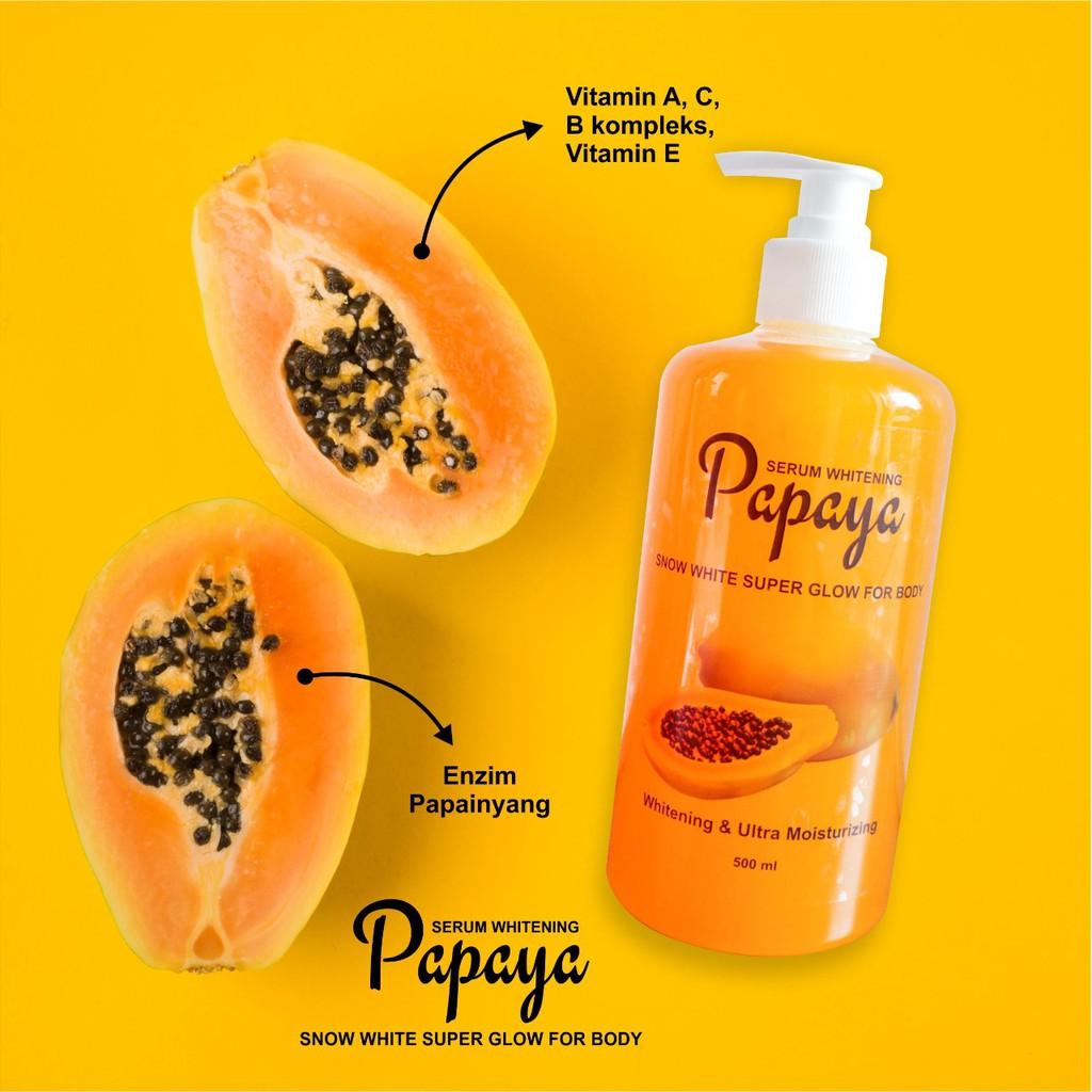 Bisa Cod Sabun Cair Pepaya Papaya Whitening Serum Shopee Indonesia