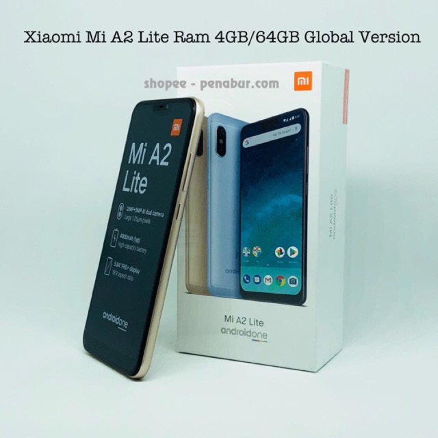 Xiaomi Mi A2 Ram 4gb Internal 32gb Grs Distributor Shopee Indonesia