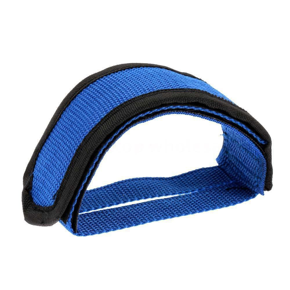1pc Fixie Bike Bicycle Cycling Adhesive Straps Pedal Toe Clip Strap Belt New