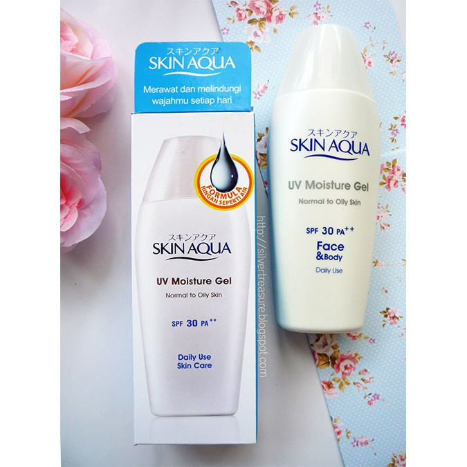 Skin Aqua Uv Moisture Gel Normal To Oily Skin Spf 30 Pa Baru Ukuran 40 Gr Shopee Indonesia