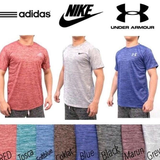 Kaos Tshirt Olahraga Baju Under Armour Hitam - Daftar Harga Produk ... 4aff3a4967