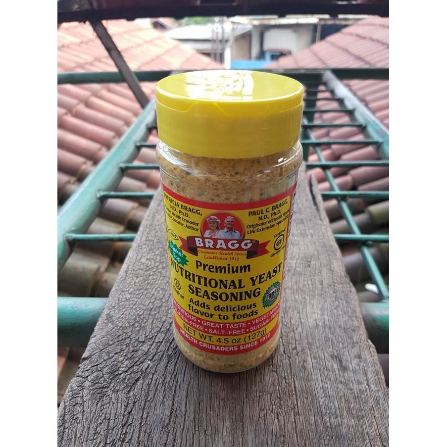 Bragg Premium Nutritional Yeast Seasoning 127 Gr Shopee Indonesia Houseoforganix Unflavoured Ketogenic Tepung Keto 500