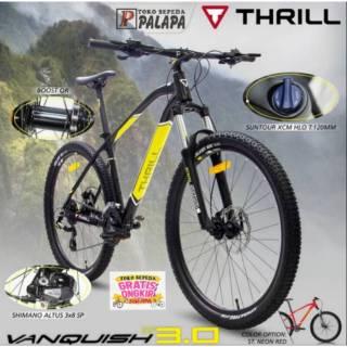 Sepeda Gunung Pacific Crosser XT-001 MTB Remaja-Dewasa 26