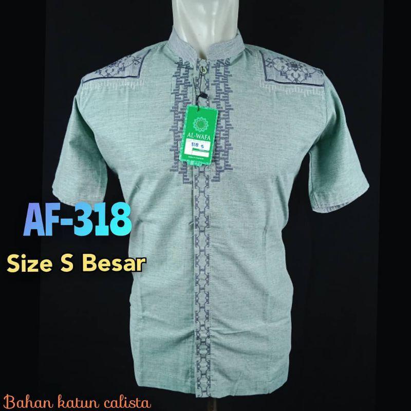 baju koko alwafa ukuran S tanggung