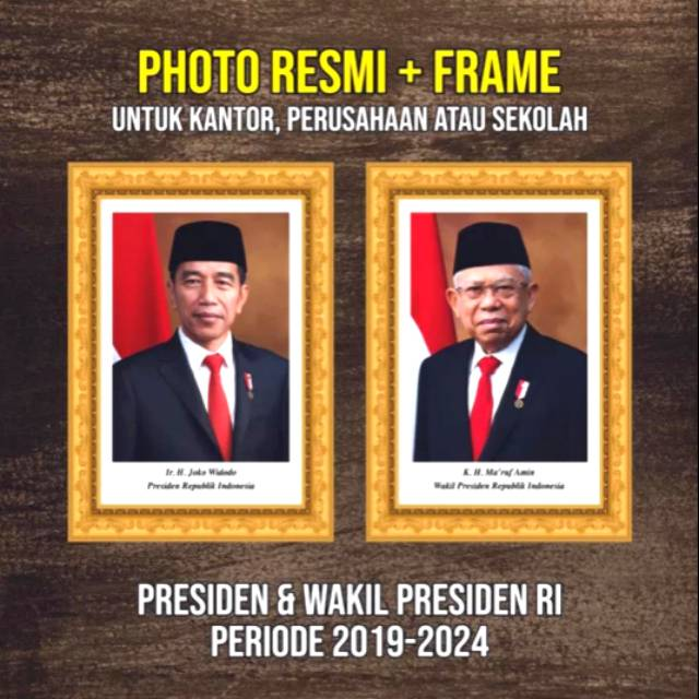 Foto Presiden Dan Wakil Presiden Ri Shopee Indonesia