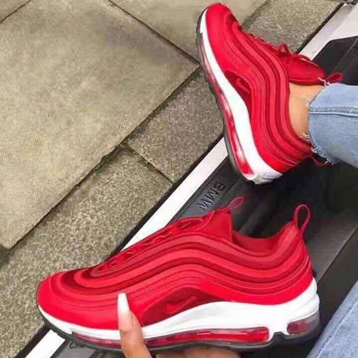 2019 Nike Air Max 97 Og Pria Dan Wanita Sepatu Olahraga Sepatu