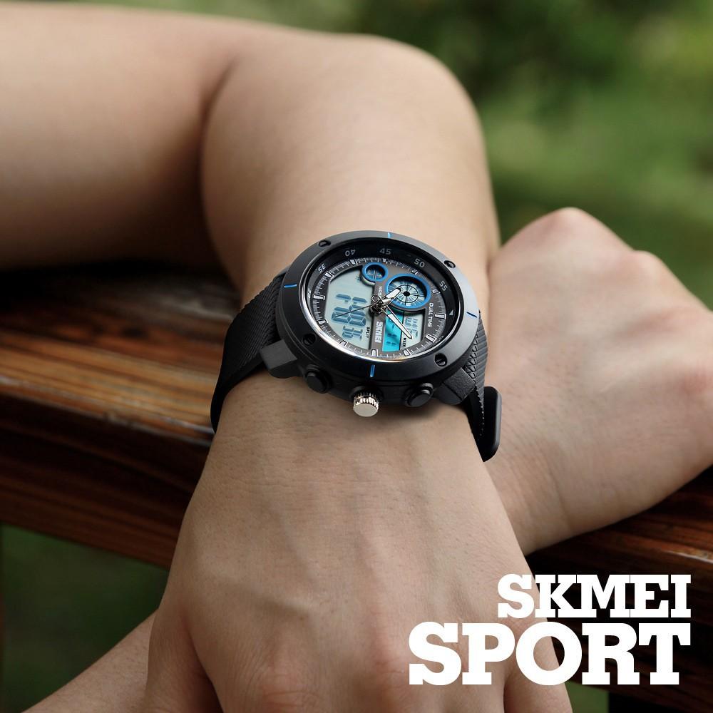 Skmei Official Store 1340 Jam Tangan Dual Time Sport Outdoor Pria Digital 1274 Black Water Resistant 50m Untuk Shopee Indonesia