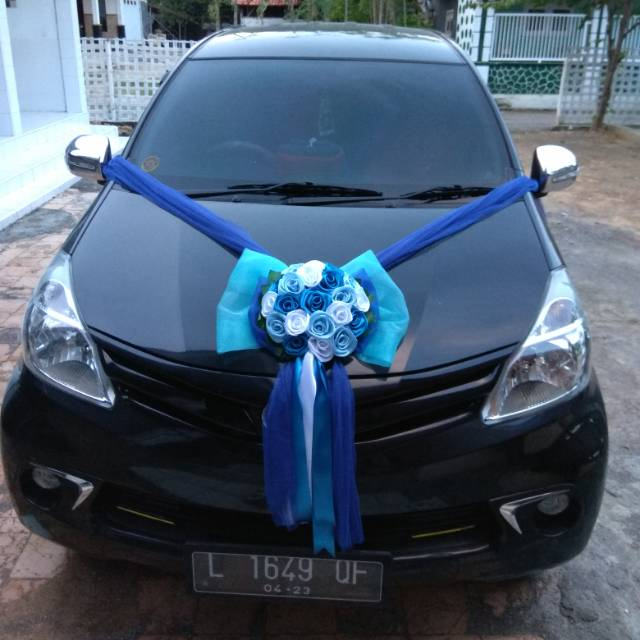 Bunga Mobil Pengantin Wedding Bouquet Bunga Pernikahan Shopee Indonesia