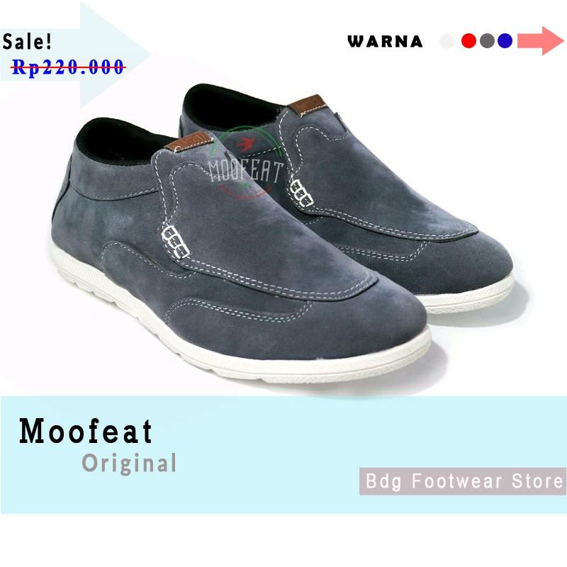 Sepatu Pria Casual Slip on Moofeat Wrinkle Original  3f05b420c1