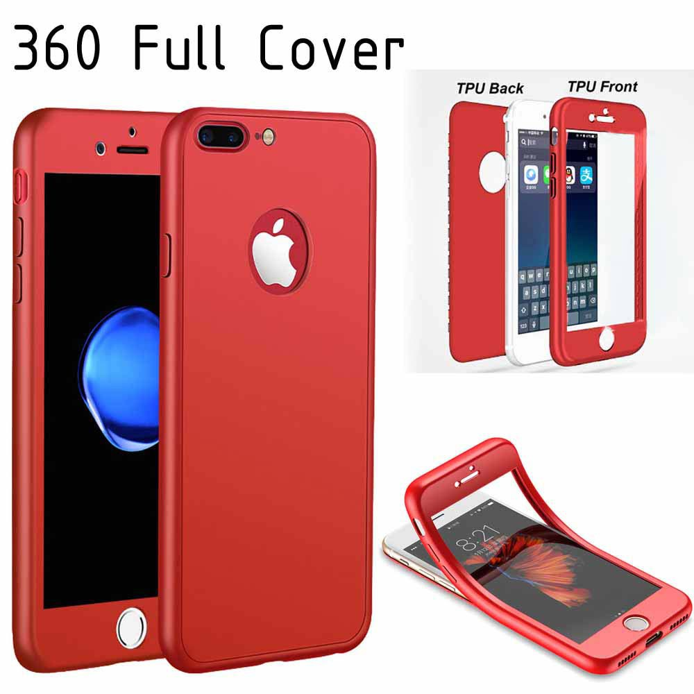 Case 360 Iphone 6 6g 6s 47 Casing Full Body Tpu Cover 7g Plus Softshell Softcase 2in1 Silikon Protect Babyskin Shopee Indonesia