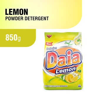 Daia Lemon Powder Detergent 850gr