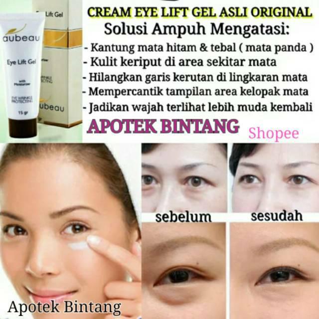 Eye Lift Gel Asli Original Cream Penghilang Kantung Mata Tebal Hitam Pemutih Kulit Area Mata Panda   Shopee Indonesia