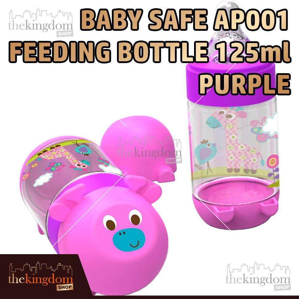 Baby Safe AP001 Feeding Bottle 125ml Purple Botol Minum Anak Bayi Ungu | Shopee Indonesia