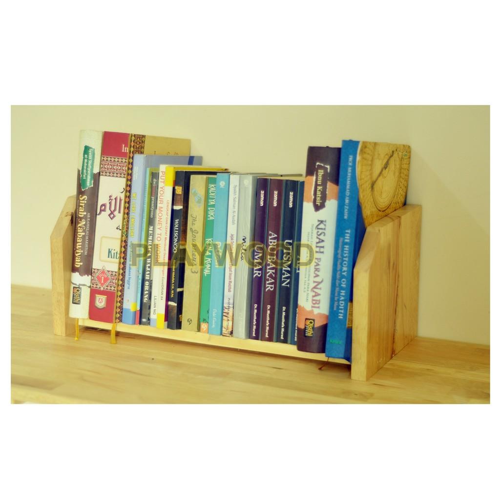 Rak Meja Belajar Buku Rak Buku Meja Shopee Indonesia Rak buku meja belajar