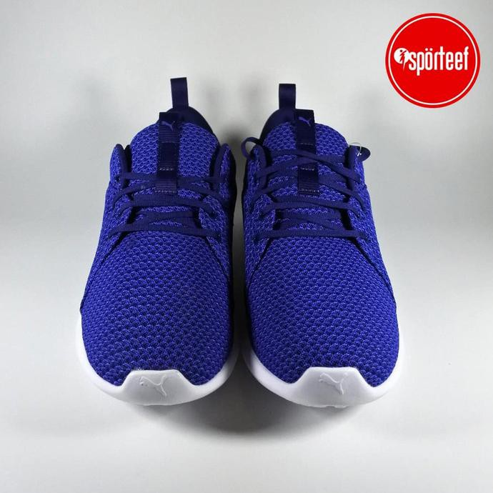 ORIGINAL Puma Carson Knit Running Sepatu Olahraga Pria Warna Hitam   Shopee Indonesia