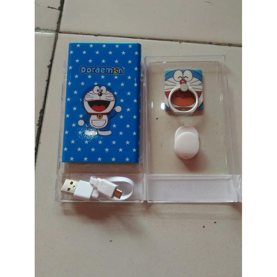 Paket Powerbank Slim Doraemon ...