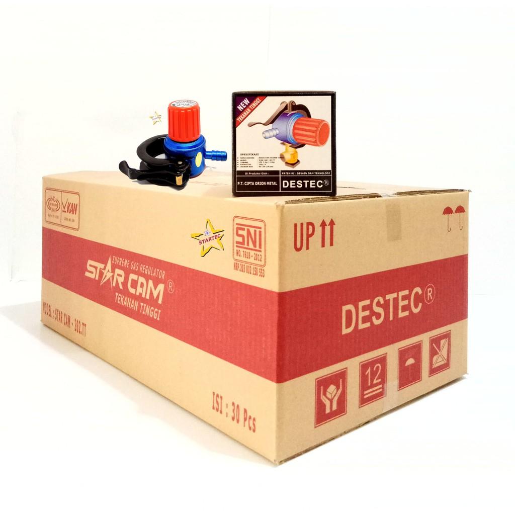 Destec Com 201 M Regulator Gas Shopee Indonesia Alat Kompor Tekanan Rendah Meter 201m Com201