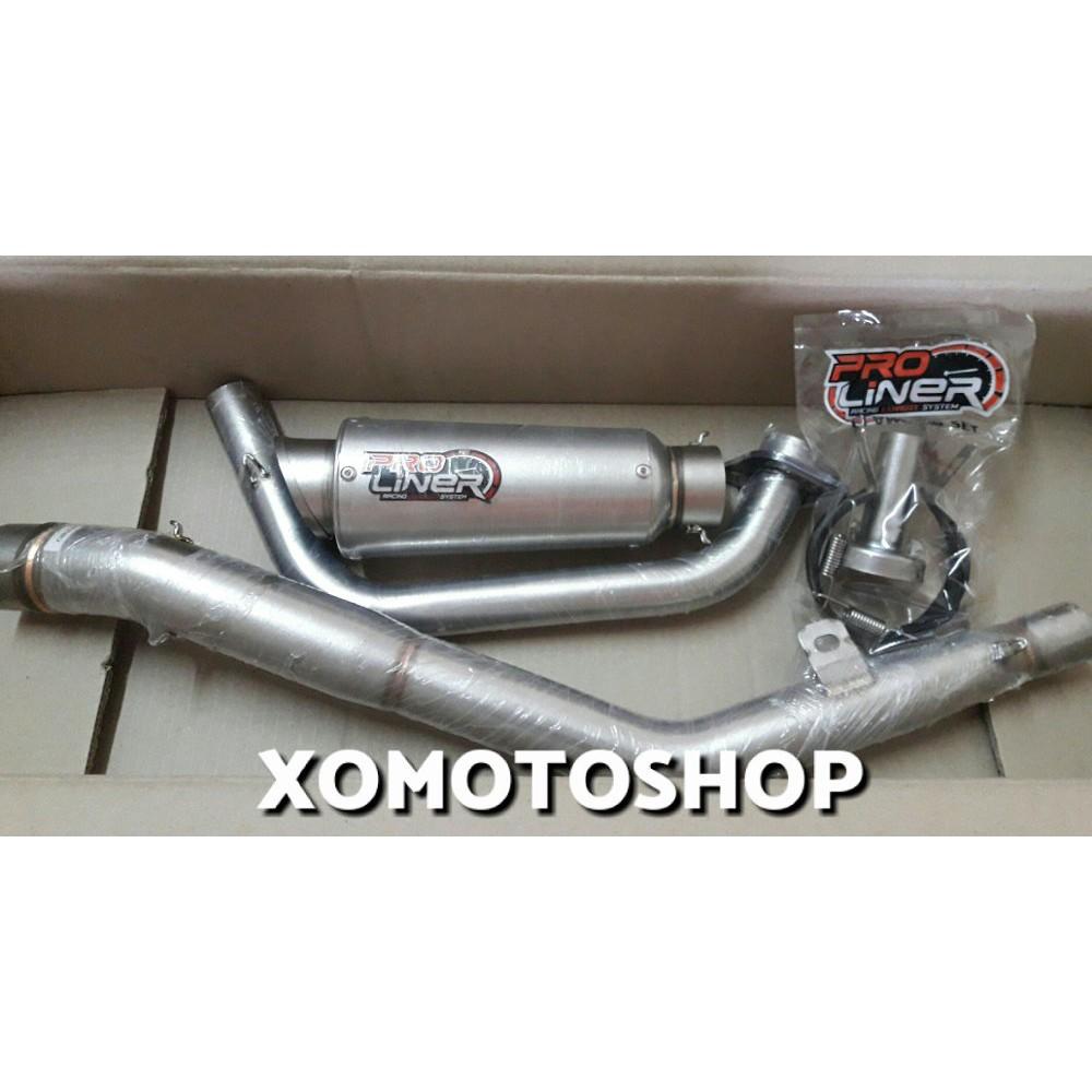 Prospeed Cbr250r Rrmono Z250sl Knalpot Shark Black Honda R25 Mt25 Mf Series Fullsystem Chome Cbr 250 R Shopee Indonesia