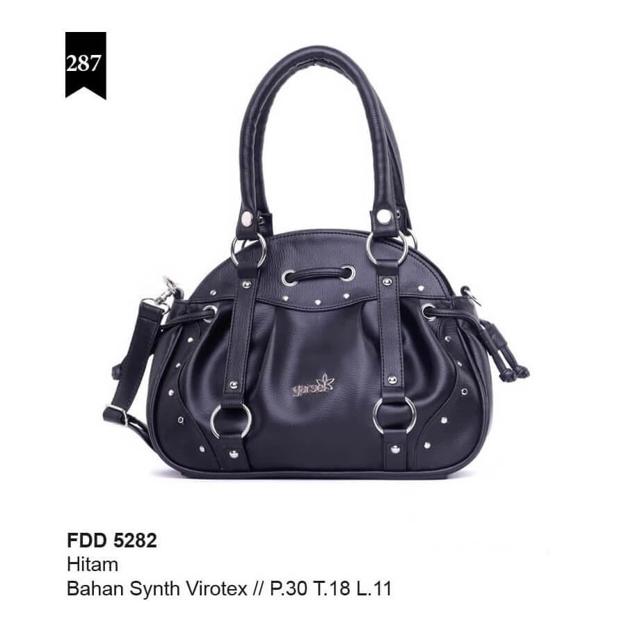GARSEL Women Handbag Tas Tangan Wanita Hitam FDD 5282 murah asli ori original