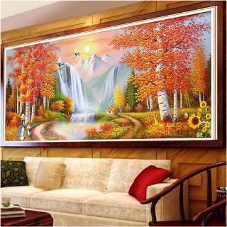 diy lukisan diamond 5d dengan gambar bunga warna emas