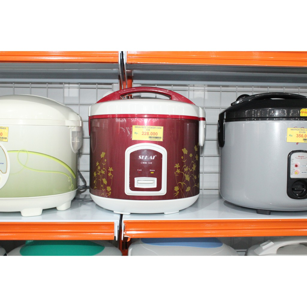 Cosmos Rice Cooker Crj 101 Shopee Indonesia Sekai Penanak Nasi Cmw 518