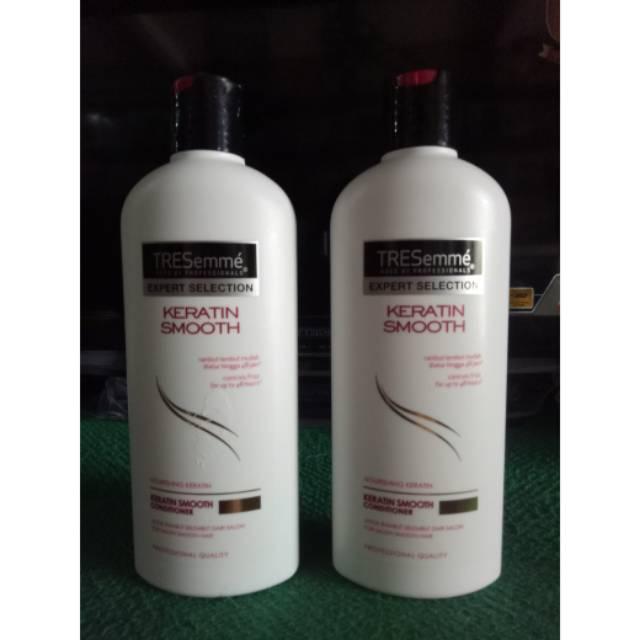 GROSIR ORI & BARU Tresemme Keratin Smooth Conditioner 340ml   Shopee Indonesia