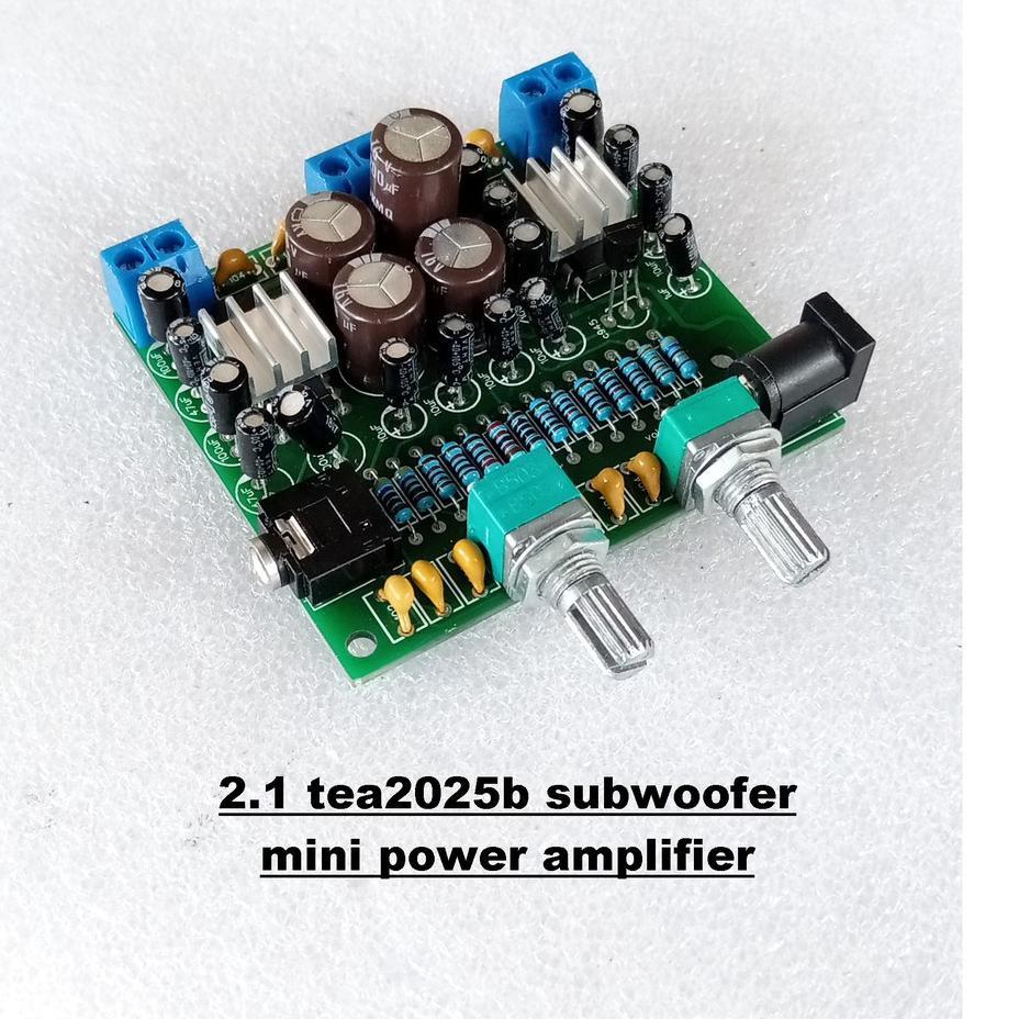 Promo >> Modul 2.1 TEA2025b Mini Power Amplifier ⚡