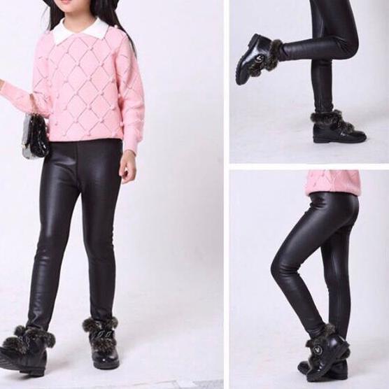 Cv Odb Cf Celana Legging Kulit Thermal Bulu Anak Vvvvi Shopee Indonesia
