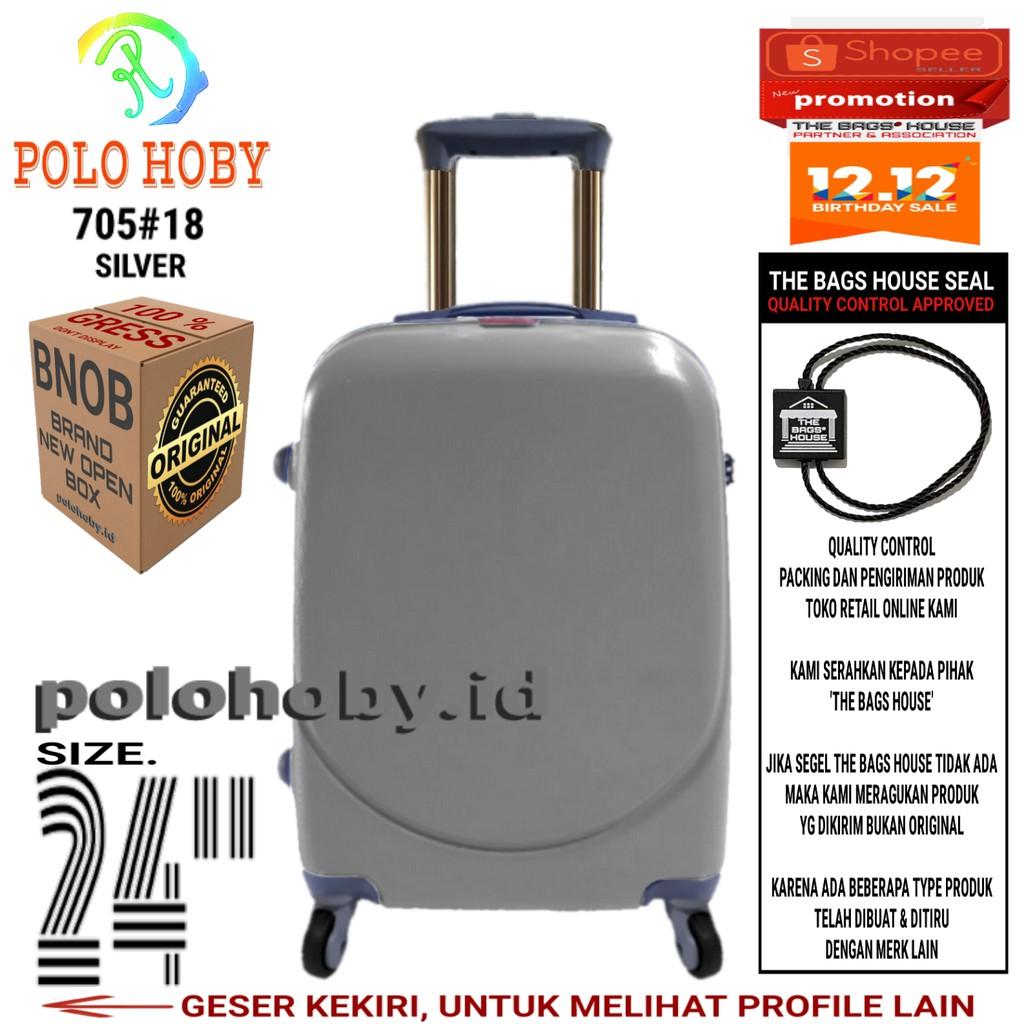 Koper Wanita Temukan Harga Dan Penawaran Tas Travel Online Polo Hoby Fiber Abs Kabin Size 20 Inch 705 Silver Terbaik Desember 2018 Shopee Indonesia