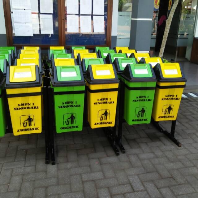 Tempat Sampah Organik Anorganik Shopee Indonesia