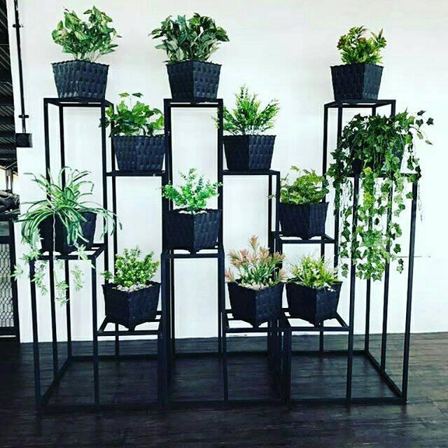 Standing Planter Tangga Kotak Shopee Indonesia