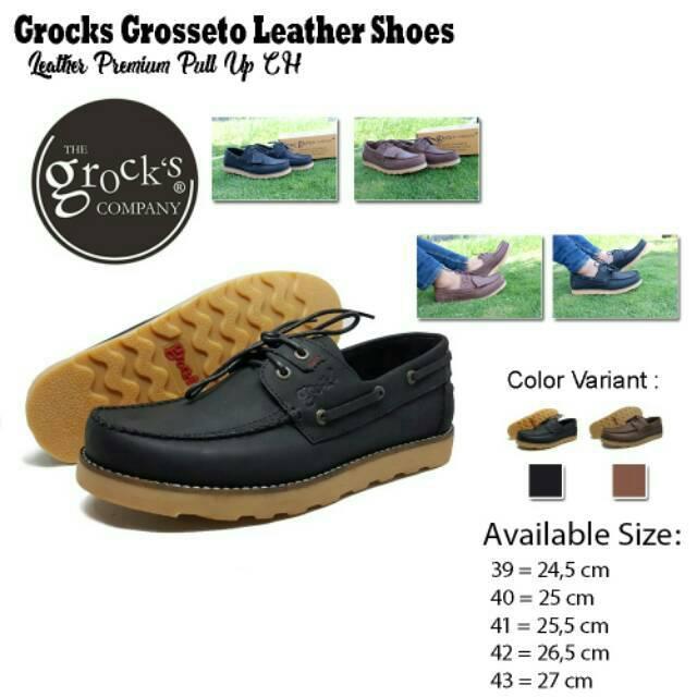 Sepatu pria The Grocks Grosseto sepatu kulit pria formal sekelas brodo bradleys zapato   Shopee Indonesia