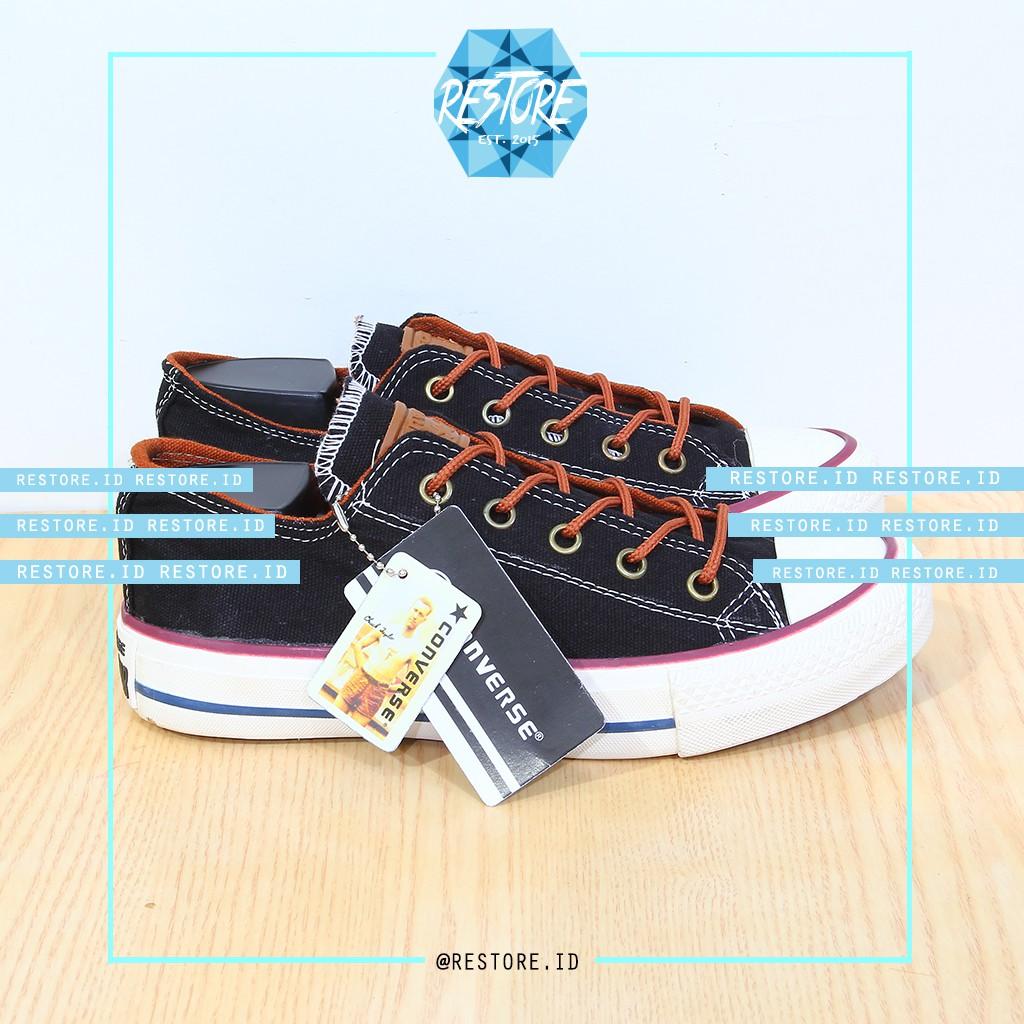 Sepatu Converse Allstar Ox Leather Special Color Grade Original Made In  Vietnam  517fc623a3