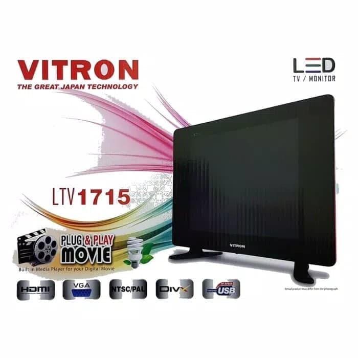 VITRON LED TV 17inch USB movie