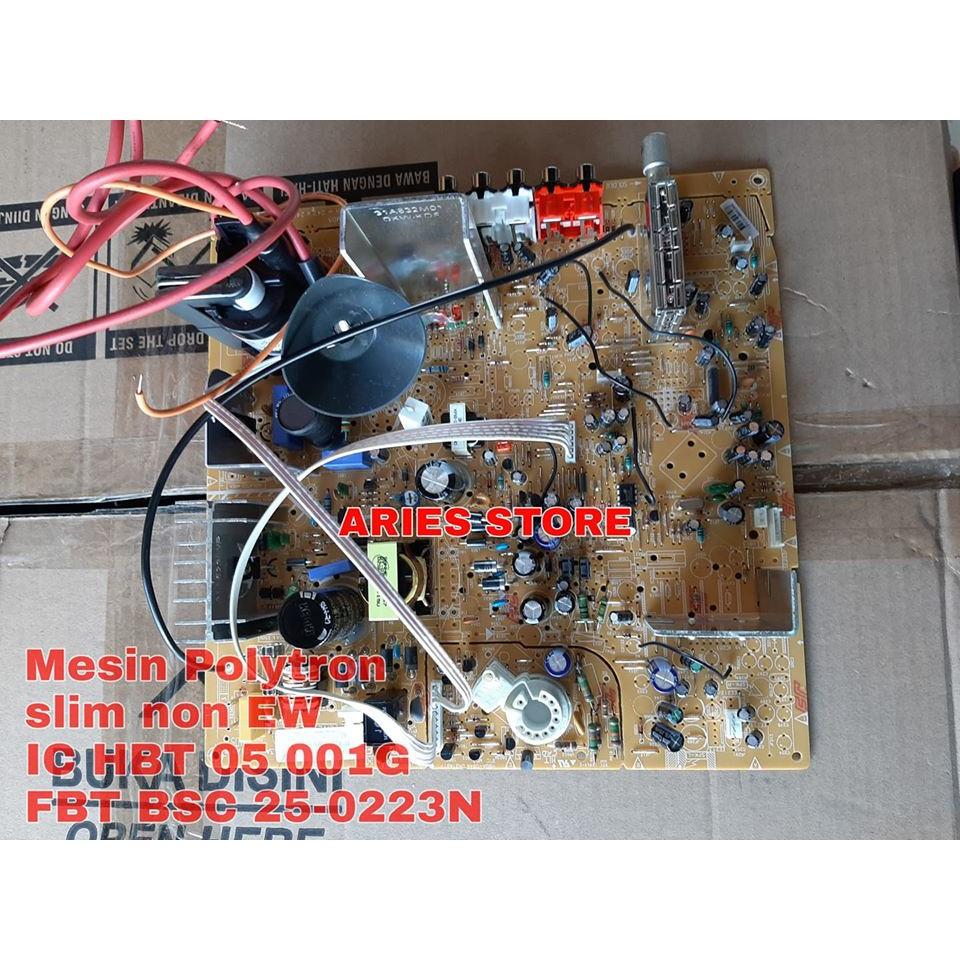Mesin Tv Polytron Slim 21 Inch Non Ew