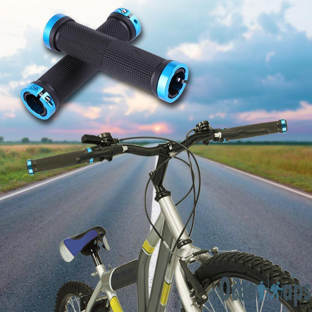 Skid Proof Road Cycling Grips Anti Skid Rubber Bicycle Mountain Bike Grips L