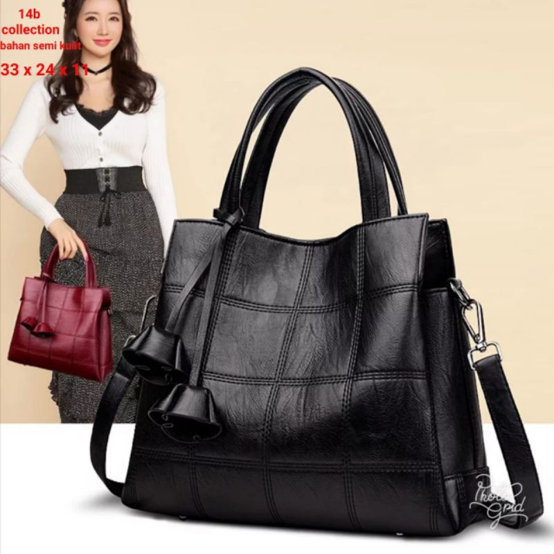 tas selempang wanita kulit model terbaru / tas wanita ...