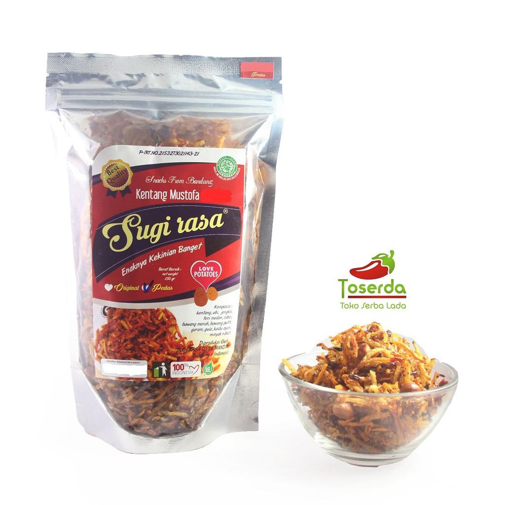 Kentang Mustofa Teri Pedas Dan Original Shopee Kuliner Sambel Bawang Kering By Khohar Cianjur Bdg Indonesia